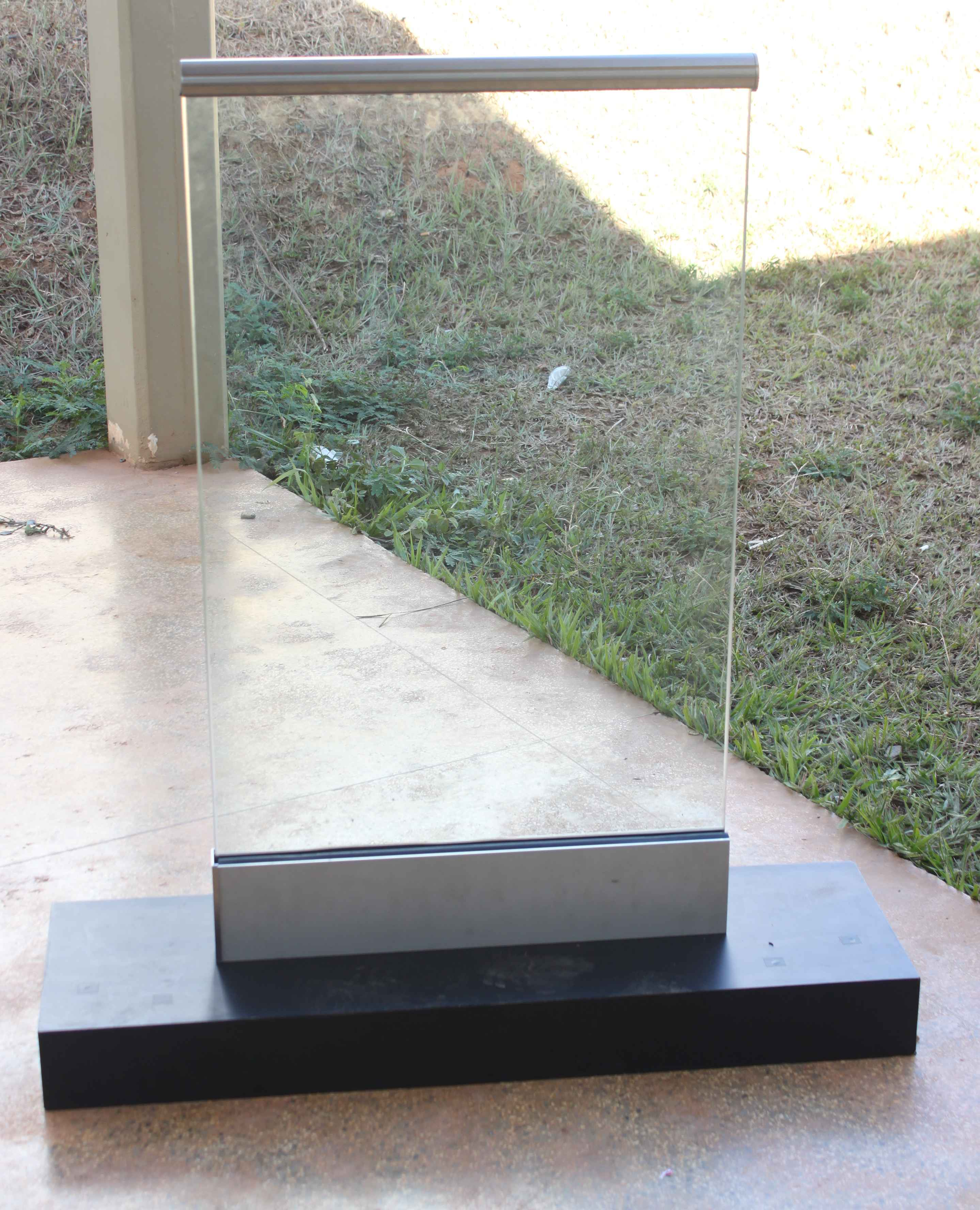 #496082 Vidro Temperado Guarda Corpo Varanda Sacada Vidro Temperado Escada  1572 Vidros E Janelas Bh